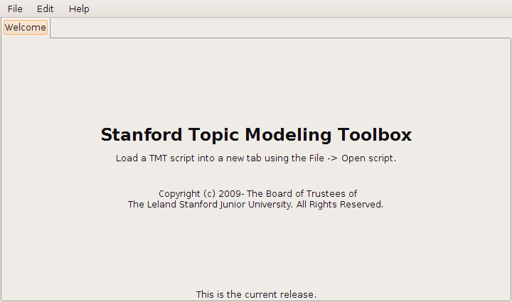 Stanford Topic Modeling Toolbox